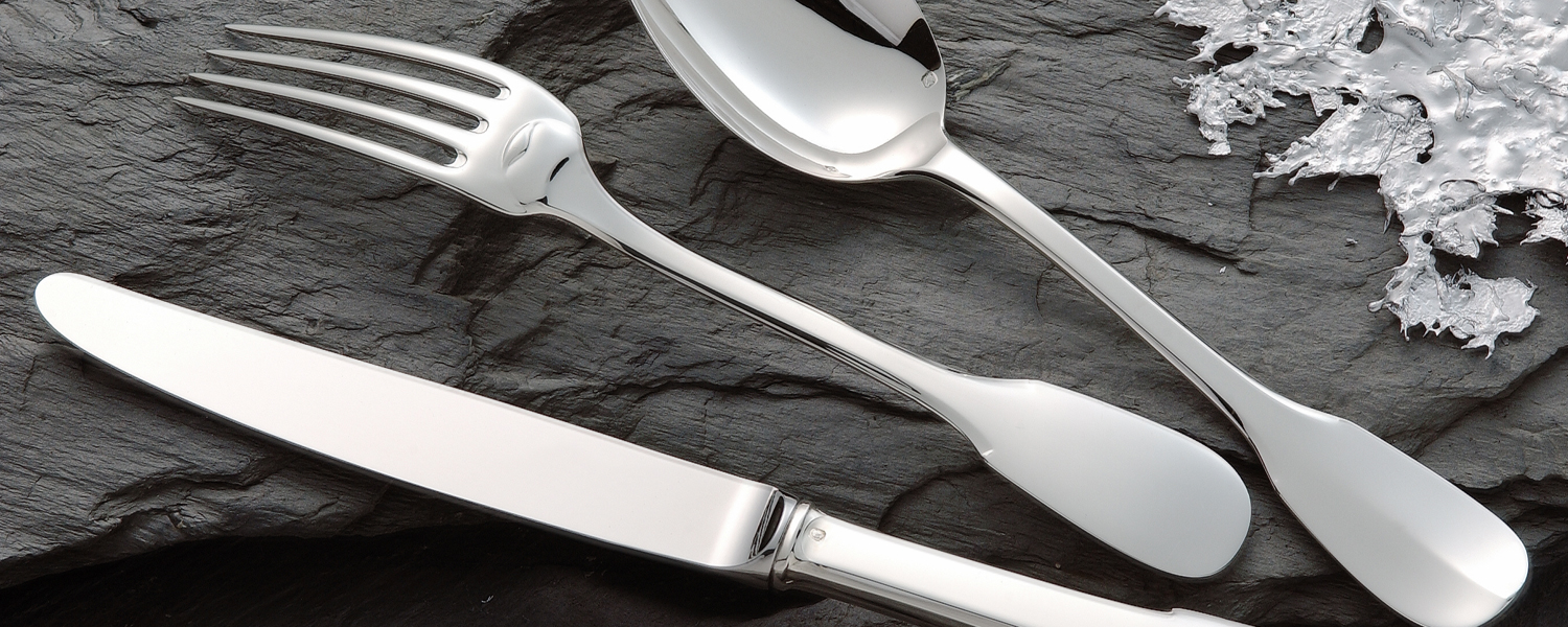 A timeless Cutlery collection  Silver Plated / Model Vieux Paris